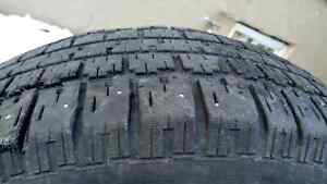 4 Used tires 225-70-16 with rims good conditions