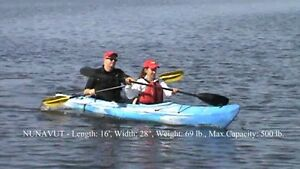 Clear Water Design Kayak Nunavut 2 place 1100$ plus tax at 680$