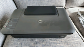 HP Deskjet 1050A all-in-one printer + accessories and black cartridge