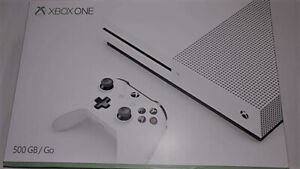 Brand New/Open Box Xbox One S 500GB Console-White