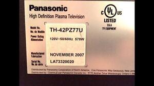 Panasonic Viera Plasma High Def Oakville / Halton Region Toronto (GTA) image 3