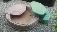 bac à sable ou piscine avec table picnic intégrée - STEP 2