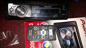 pioneer in dash cd player
