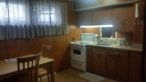 One Bedroom Basement Suite Peace River South End Available Now!