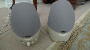 Labtec Computer Speakers .