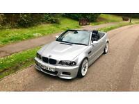 2004 BMW E46 M3 Convertible 3.2 PX, Swap