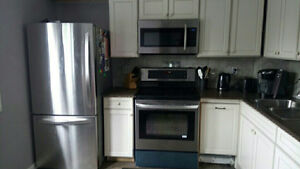 3 BEDROOM TOWNHOUSE - TOTALLY RENOVATED -- WEST EDMONTON