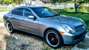 Infinity G35X luxury car trades welcome