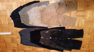 Vêtements garçons 2x, 3,4 ans