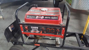 1500W Power Force Gas Generator