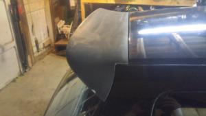 92-95 Civic Hatchback duckbill spoiler
