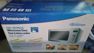 BRAND NEW NEVER OPENED $500 MICROWAVE FROM NEW SHOW HOME