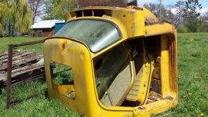 50s Fargo truck cab, hood, doors, windshield