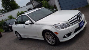 2009 Mercedes-Benz C-Class 3.0L Sedan Safety is including