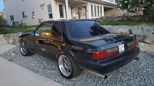 1993 Ford Mustang LX Coupe Notch back W Vortech Supercharger