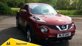 2015 Nissan Juke 1.2 DiG-T Acenta Premium with Manual Petrol Hatchback