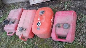 Outboard motor tanks. Great for Generators as well