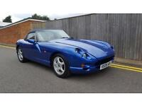 TVR Chimaera 4.0 2dr TUSCAN HEADLIGHT UPGRADE 1999 V REG 54K VIPER BLUE