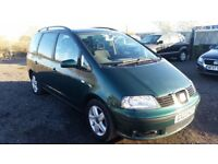 SEAT ALHAMBRA 1.9 TDI - HEATED SEATS + PARKING SENSORS FSH TOP CONDITION