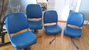 I have 4 boat seats for sale in Good Condition