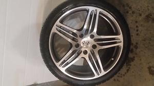 Porsche 911 turbo wheels w/winter tires