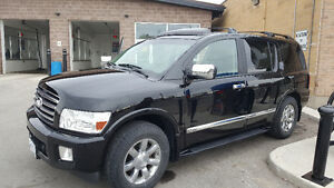 2005 Infiniti QX56 SUV, TV-DVD/ Leather/ Navegation/ GreatShape!