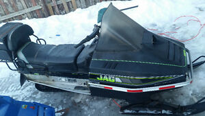 selling a artic cat jag runs good nother sled for parts
