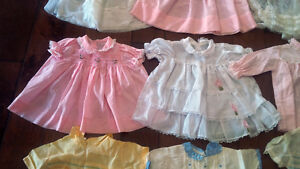 Nine Vintage Baby/Doll Dresses, Outfits, Most With Embroidery Kitchener / Waterloo Kitchener Area image 5