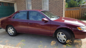 Toyota Camry LE  that was built to last....now for sale.