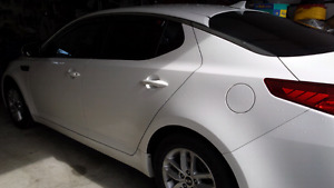 2013 kia optima Lx with kia extended protection warranty