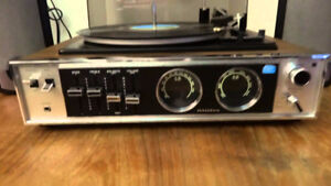 I'm looking for a vintage all in one Turntable/Receiver Combo