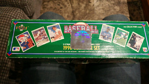 Collectors baseball cards and 3-D holographic stickers