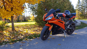 Yamaha r6 for sale with lots of addons