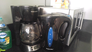 Coffee maker and water boiler