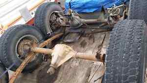 Jeep axles and couple other parts