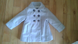 Pea Coat Girls 2T