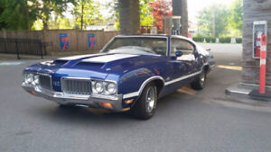 Real Deal 1970 Oldsmobile 442 Holiday coupe