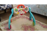 Vtech Baby gym surprises 4 in 1 and a baby mat free.