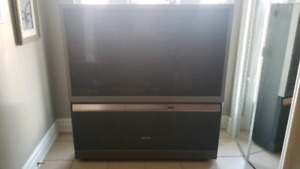 "Toshiba 65"" Rear Projection Non Functional TV"