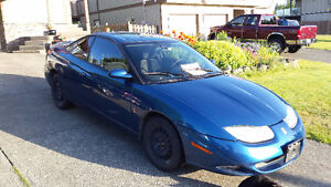 2001 Saturn S-Series Fun sporty car