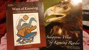 Indihenous ways of knowing text and book