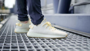 Yeezy 350 butter - size 5 mens (size 6 wmns) adidas
