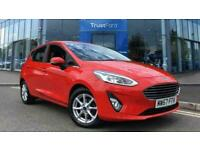 2017 Ford Fiesta ZETEC TDCI With Rear Parking Sensors Contactless Delivery Avail