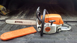 "Stihl Chainsaw MS261C with 16"" bar."