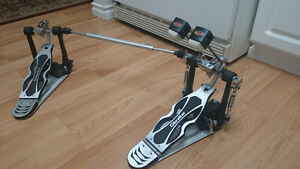 Gibraltar Direct Drive double bass drum pedal. Excellent!
