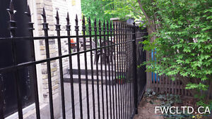 Wrought Iron Metal Solid Fence Panels, Railings, Gates London Ontario image 9