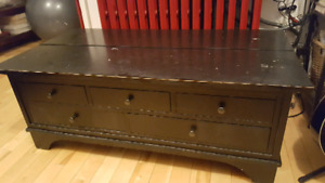 pottery barn filing chest