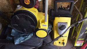Two Karcher Electric pressure washers