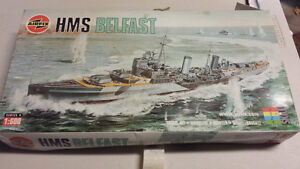 HMS Belfast  model ship NEW in box London Ontario image 1