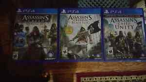 Ps4 Assassin's Creed Collection West Island Greater Montréal image 1